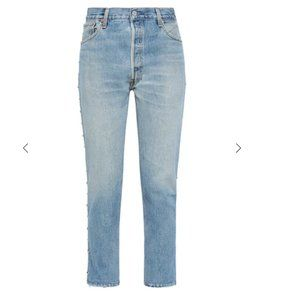 Re/done with Levi's Studded Jeans